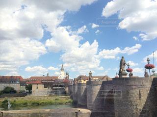 フランケンワインの街、ヴュルツブルクの写真・画像素材[1346235]