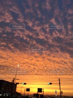 日没の写真・画像素材[1487698]