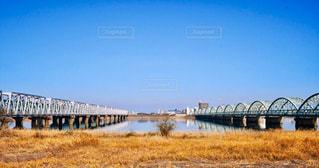 川に架かる橋の写真・画像素材[1767356]