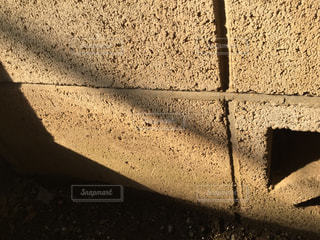 ブロック塀の写真・画像素材[3023111]