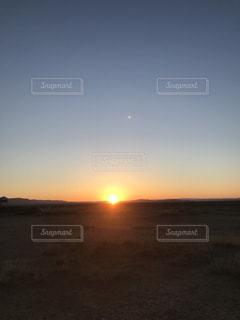 モンゴルの夜明けの写真・画像素材[1349057]