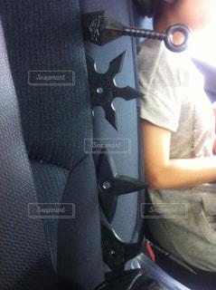 車の中の女性の写真・画像素材[1362614]