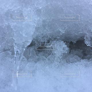 雪の大谷の写真・画像素材[2138432]