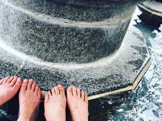 足湯の写真・画像素材[1350366]