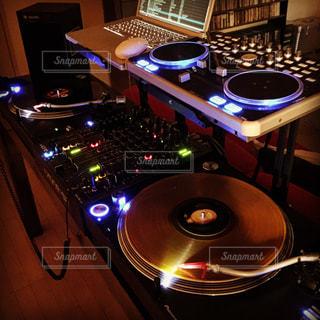 DJ機材の写真・画像素材[1349534]