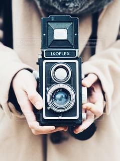 二眼レフカメラの写真・画像素材[1349620]