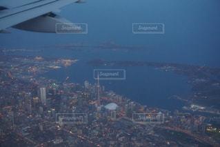トロント上空の写真・画像素材[1350846]