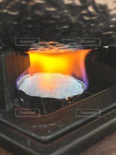 固形燃料の写真・画像素材[4329870]
