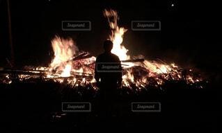 炎の写真・画像素材[4334631]