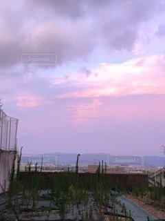 曇りの日に城の写真・画像素材[1366576]