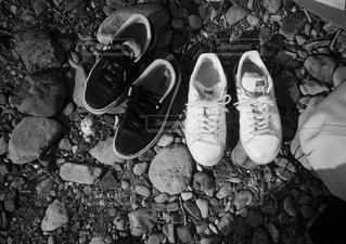 履き潰したスニーカーの写真・画像素材[1600794]