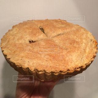 手作りアップルパイの写真・画像素材[1351525]