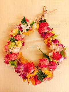 近くの花のアップの写真・画像素材[1373300]