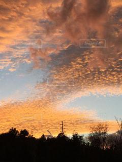 奇跡の夕焼け9の写真・画像素材[1360471]