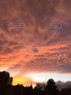 奇跡の夕焼け5の写真・画像素材[1360475]