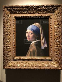 フェルメールの真珠の耳飾りの少女の写真・画像素材[1386376]