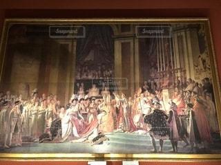 ナポレオンの戴冠式の写真・画像素材[1386377]