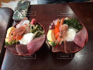 海鮮丼の写真・画像素材[1364020]