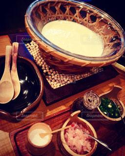 豆腐料理 汲み上げ湯葉の写真・画像素材[1354244]