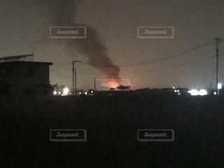 火災発生の写真・画像素材[1354997]
