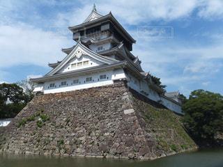 小倉城を見上げるの写真・画像素材[1393889]
