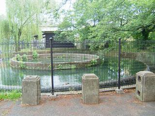 久地円筒分水の写真・画像素材[1439879]