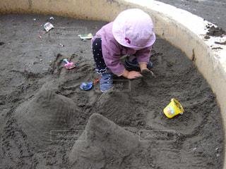 砂遊びの写真・画像素材[1651767]
