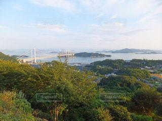 鷲羽山展望台からの眺めの写真・画像素材[1843044]