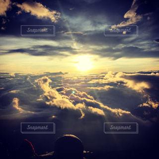 山の天気は変わりやすいの写真・画像素材[1424636]