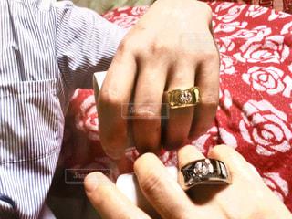 指輪マグカップの写真・画像素材[1423623]