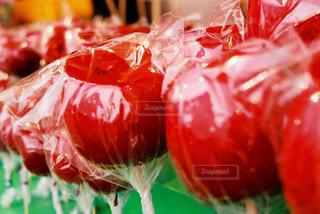 林檎飴の写真・画像素材[1373040]