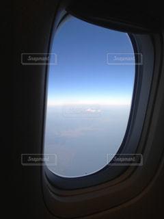 飛行機から見た風景の写真・画像素材[1362674]