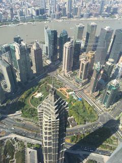 上海タワーからの景色の写真・画像素材[1359189]