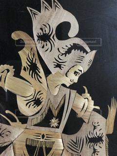 インドネシアの藁細工の写真・画像素材[1360538]