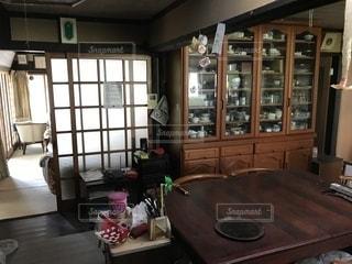 田舎の台所の写真・画像素材[1384246]