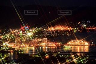サンポート高松 夜景の写真・画像素材[1361072]