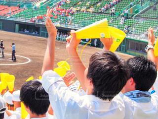 野球応援の写真・画像素材[1361136]