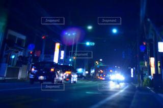 夜の街の写真・画像素材[1361267]