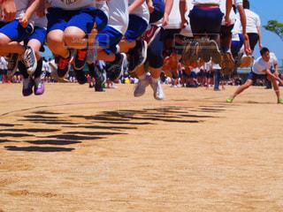体育祭 大縄跳びの写真・画像素材[1363313]