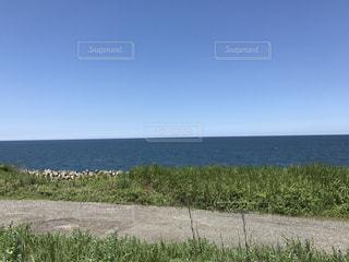 青い海と空の写真・画像素材[1363650]