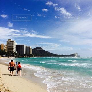 ハワイの浜辺の写真・画像素材[1364129]