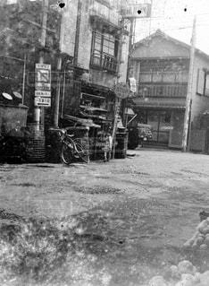 昭和の街の写真・画像素材[1418872]