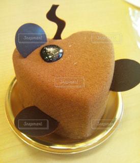 ハートのケーキの写真・画像素材[1398951]