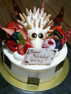 バースデーケーキの写真・画像素材[1399831]
