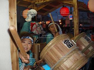 祭り太鼓の写真・画像素材[1370790]