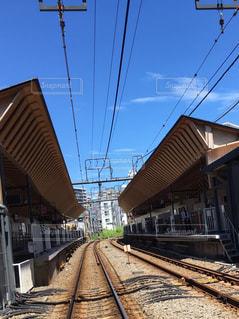 新しくなった地元駅の写真・画像素材[1412860]
