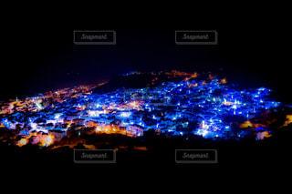 シャウエン 夜な街並みの写真・画像素材[2169720]