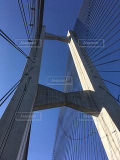 吊橋の写真・画像素材[1367357]