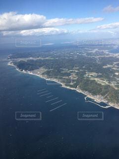 海と大地の写真・画像素材[1366806]