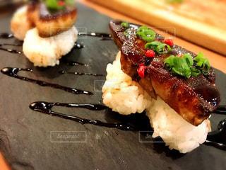 フォアグラ寿司の写真・画像素材[1368250]